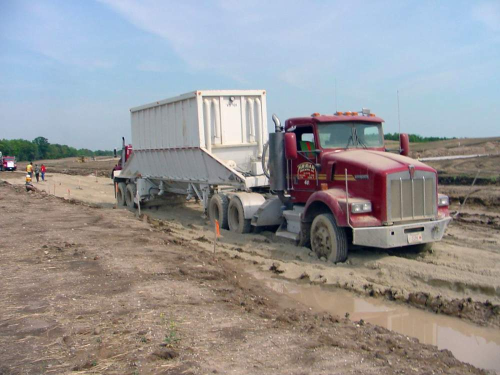 Hribar Logistics truck