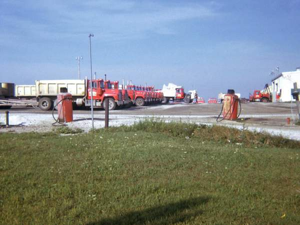 Hribar logistics fleet, old photograph